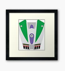 Buzz Lightyear Jetpack Framed Print