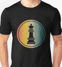 Queen Chess Chessboard Checkmate Unisex T-Shirt