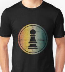 Chess pawn chessmen chessboard Unisex T-Shirt