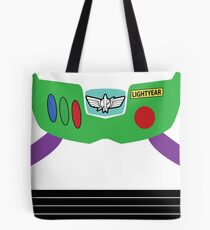 Buzz Lightyear Costume Front Tote Bag