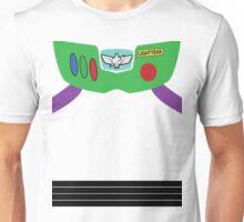 Buzz Lightyear Costume Front Unisex T-Shirt