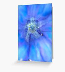 Translucent Blue Greeting Card