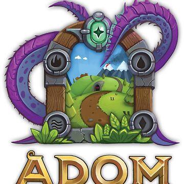 ADOM Logo by ADOMgame
