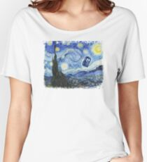 Vincent and The Doctor Women's Relaxed Fit T-Shirt