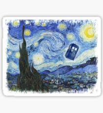Vincent and The Doctor Sticker