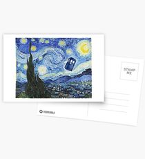 Vincent and The Doctor Postcards