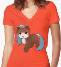 Kitty Care - Bobby Fitted V-Neck T-Shirt