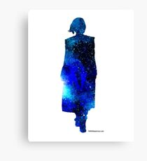 The 13th Doctor - Doctor Who Art Print Canvas Print