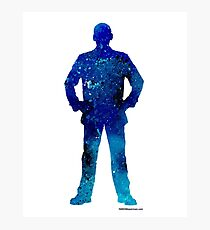 The 9th Doctor - Doctor Who Art Print Photographic Print