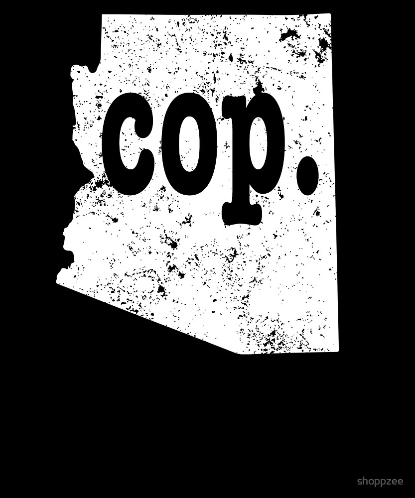 Chief Police Shirt Arizona Cop Shirt Chief Of Police by shoppzee