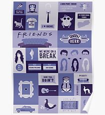 Friends TV Show Poster