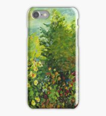 Claude Monet's Corner of the Garden (author's copy) iPhone Case/Skin