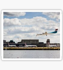 Lux Air London City Airport Sticker
