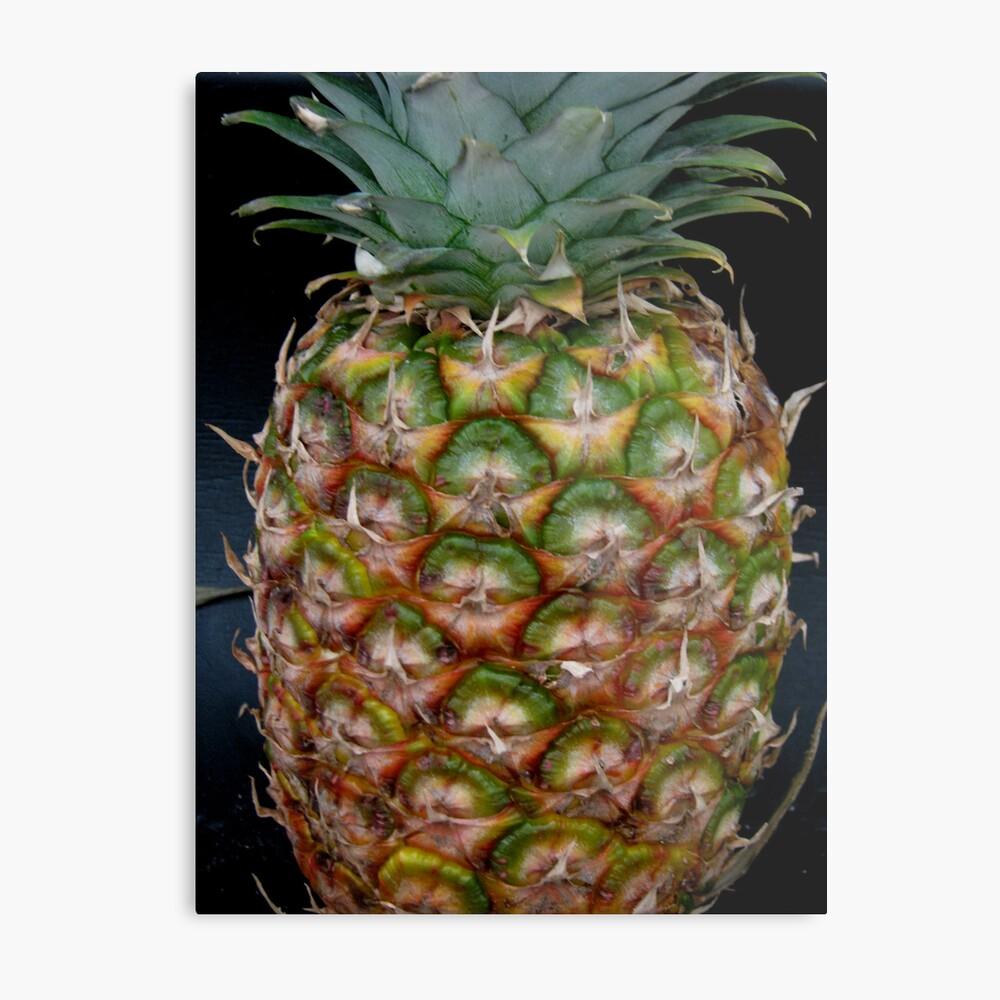 Lets Have Some Pineapple Metallbild