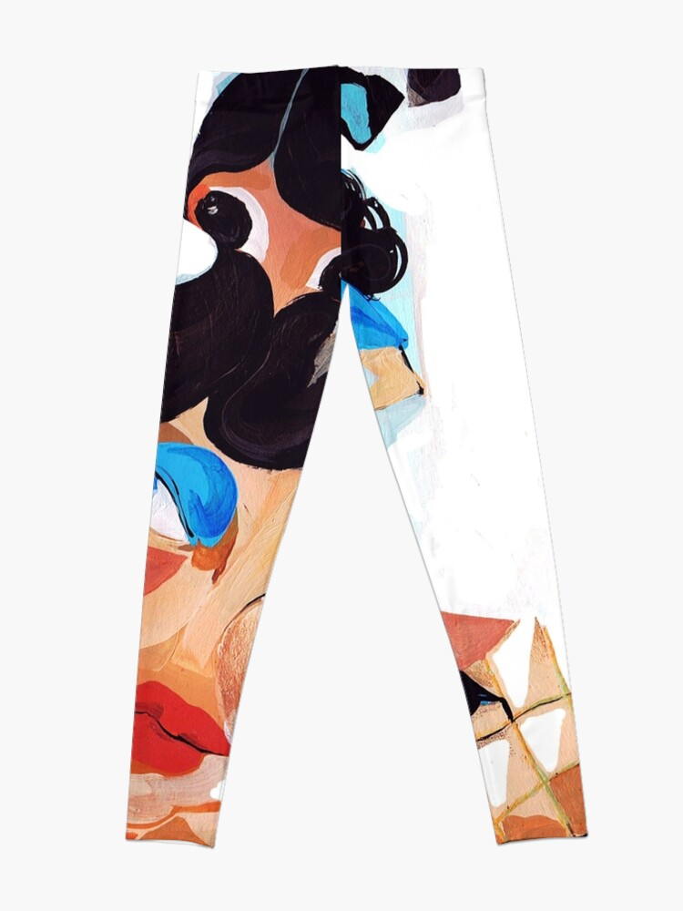 Alternate view of Daughter and Mother Children's Book Illustration Leggings