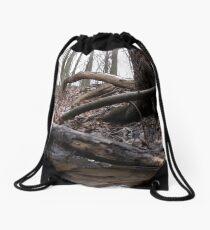 Close to earth Drawstring Bag