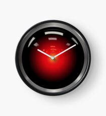 2001: A Space Odyssey -- HAL 9000 Clock
