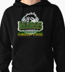 Humboldt Strong, Remember The Humboldt Broncos Pullover Hoodie