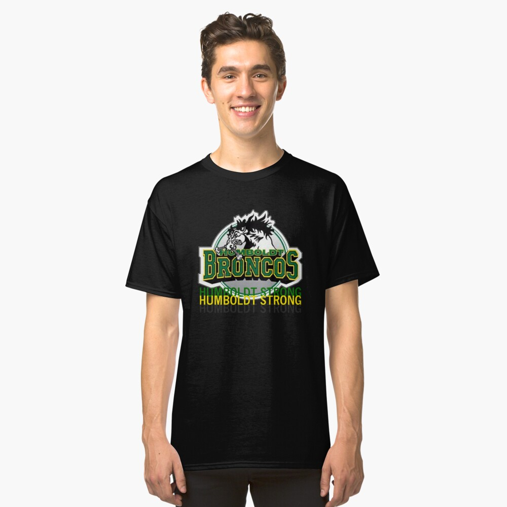 Humboldt Strong, Remember The Humboldt Broncos Classic T-Shirt Front