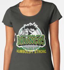 Humboldt Strong, Remember The Humboldt Broncos Women's Premium T-Shirt