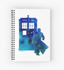 The 10th Doctor with the TARDIS Spiral Notebook