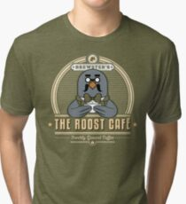 the Roost Café Tri-blend T-Shirt