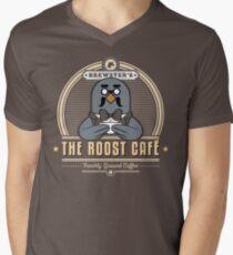 the Roost Café Men's V-Neck T-Shirt