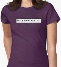 Millennials >> Women's Fitted T-Shirt