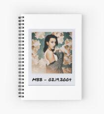 Millie Bobby Brown Polaroid Edit (2) Spiral Notebook