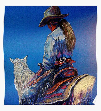 """""""Cowgirl Blues"""" Poster"""