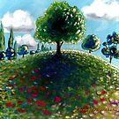 Hilltop Tree by Cherie Roe Dirksen
