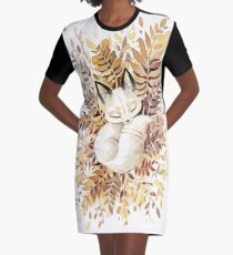 Slumber Graphic T-Shirt Dress