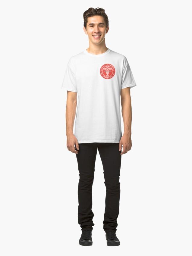 Vista alternativa de Camiseta clásica Copenhague - La Sirenita
