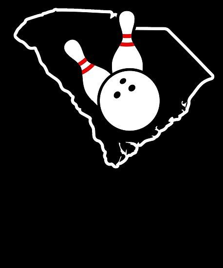 Bowling Shirt South Carolina Bowling Gifts Shirt by shoppzee