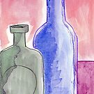 Bottles 90 by Loretta Nash