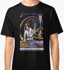 Fortune's Wheelhouse Tabula Mundi Tarot Magus Classic T-Shirt