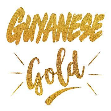 Guyanese Gold by identiti