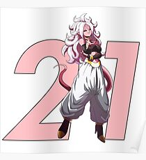 Póster Android 21