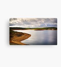 Dramatic sky over Canning Dam Canvas Print