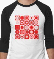 Retro concentric Men's Baseball ¾ T-Shirt