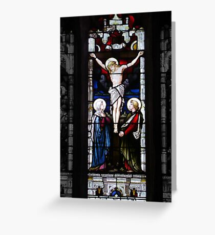 On The Cross - Good Friday Greeting Card