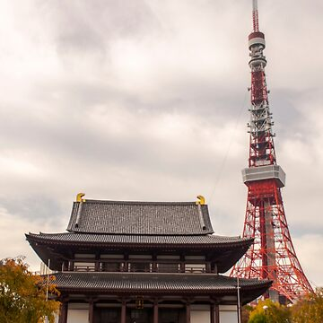 Tokyo Tower by TheAngryAggron