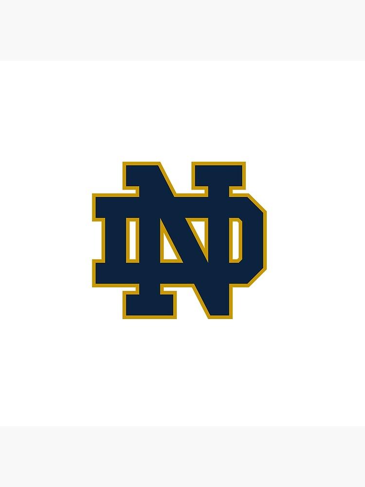 Notre Dame Logo von delaneyaustin