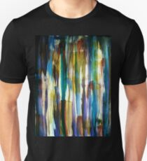 Looking out through Coloured Bark Unisex T-Shirt