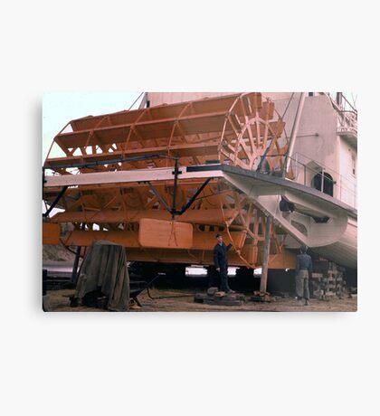 Yukon Paddle-Wheeler Metal Print