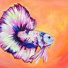 Betta Fish  by Amanda  Shelton
