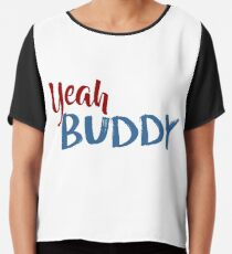 jersey shore - yeah buddy Chiffon Top