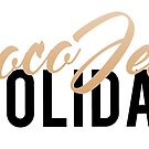 Coco Jem Holiday - Name Design - Gold/Black by cocojemholiday