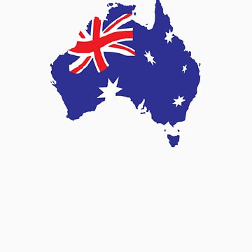 Aussie Flag by ouraussietown