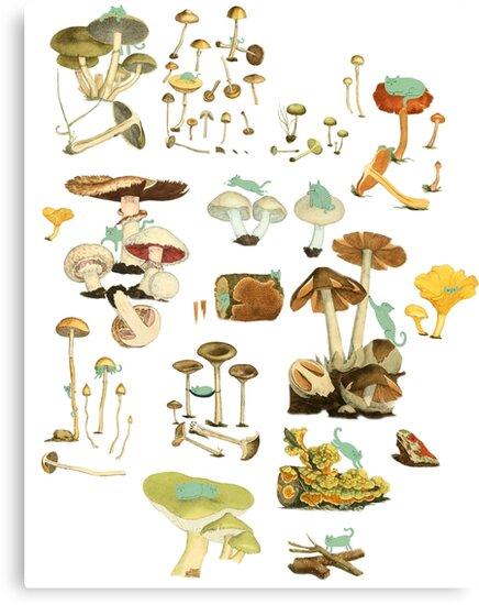 Feline Fungus! by Nichole Lillian Ryan